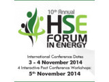 10th Annual HSE Forum in Energy 2014