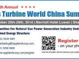 The 4th Annual Gas Turbine World China Summit 2014
