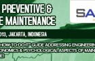 Advanced Preventive and Predictive Maintenance 2013