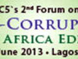 2nd Forum on Anti- Corruption West Africa 2013