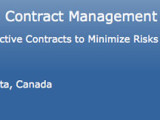 Canadian Oil and Gas Contract Management 2013