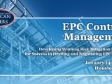 EPC Contract Management 2015