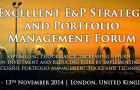 Excellent E&P Strategy and Portfolio Management Forum 2014