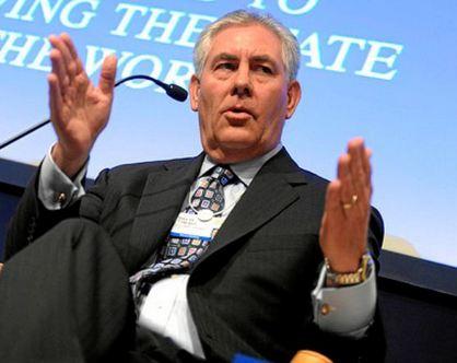 """Exxon Mobil's Rex W. Tillerson chosen as 2015 """"Petroleum Executive of the Year"""""""