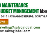 Integrated Maintenance Cost and Budget Management 2015