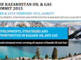 KAZAKHSTAN OIL AND GAS SUMMIT 2015