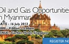 Oil and Gas Opportunities in Myanmar 2013