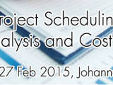Project Scheduling, Risk Analysis and Cost Control 2015