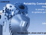Reliability Centred Maintenance (RCM) 2014