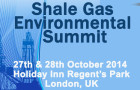 Shale Gas Environmental Summit 2014
