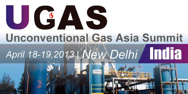 Unconventional Gas Asia Summit, India 2013