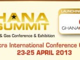 4th Ghana Summit Oil, Gas and Power  Conference & Exhibition 2013