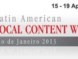 Latin American Local Content Week 2013
